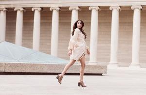 Alyssa Nicole SS15 Silk Kimono Dress